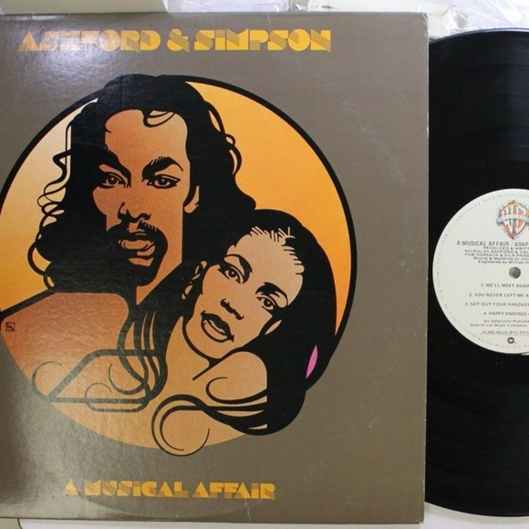 wb Other - Ashford & Simpson A Musical Affair 1980 LP